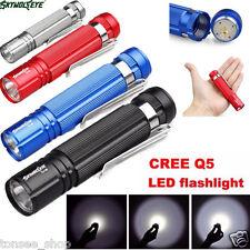 Wasserdicht 1200Lm 7W CREE Q5 LED Mini Taschenlampe Licht 14500/AA Stablampe Hot