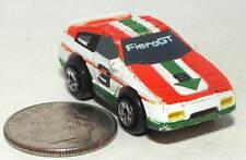 Small Micro Machine Plastic Pontiac Fiero GT Race Car number 3