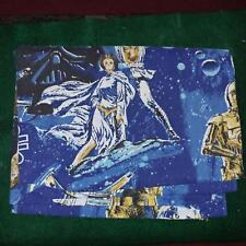Vintage Original 1977 Star Wars Twin Bed Sheet 2 FLAT SHEET 1 FITTED