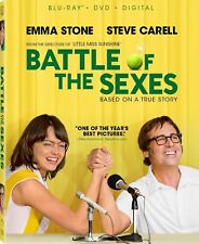 PREORDER: BATTLE OF THE SEXES (Emma Stone)  - Region A - BLU RAY - Sealed