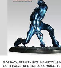 Sideshow Iron Man Stealth Format Statue / Iron Man Figure / Marvel