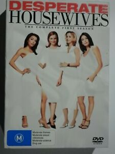 Desperate Housewives The Complete First Season (Season 1) 6 Disc Box Set DVD GD