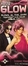 Splat 1 Wash Temporary Hair Color -Glows-In-The-Dark- HTF- Cosmic Pink 1.6 Oz