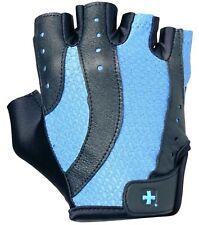 NEW Harbinger Women's Pro Weight Lifting Fitness Gloves 149 Medium Blue BlacK