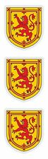 3x Scotland Stickers United Kingdom Coat of Arms for Bumper Laptop Tablet Helmet