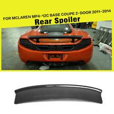 Car Rear Spoiler Wing Fit for McLaren MP4-12C Coupe 11-14 Carbon Fiber Factory