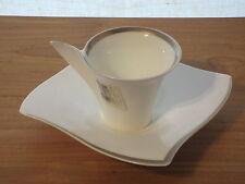 VILLEROY & BOCH *NEW* NEW WAVE PREMIUM PLATINIUM 4623 Tasse + soucoupe Cup V&B