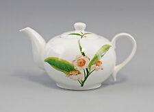 "Porzellan modern Tee-Kanne Dekor ""Teeblatt"" Jameson&Tailor 9952336"