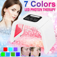 7 Color Face LED Light Photon Therapy Beauty Machine Facial Skin Therapy Wrinkle