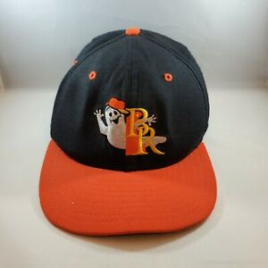 Youth Halloween Ghost Wilmington Blue Rocks Minor League Baseball Hat Snapback