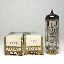 2x ADZAM / Philips E83F Vorverstärker Röhre für TAB V76, Audio Tube, NOS