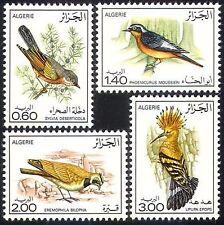 ALGERIE N°667/670**  Oiseaux, 1976 Algeria birds MNH