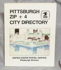 Vintage Zip + 4 City Directory USPS Street Guide (g10)