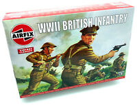 AIRFIX® 1:76 WW2 BRITISH INFANTRY N. EUROPE VINTAGE MODEL KIT SOLDIERS A00763V
