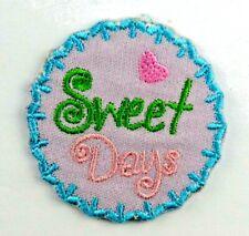 Applikation zum Aufbügeln, Bügelbild 3-714  Sweet Days