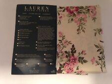 New Ralph Lauren Sheffield Floral Standard Pillow Sham