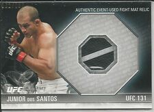 Junior dos Santos 2012 Topps UFC Knockout Fight Mat Relics Card # FMJDS