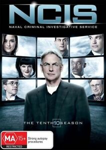 NCIS : Season 10 : (DVD, 6 Disc Set) Region 4 - NEW+SEALED