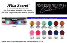 NEW! Mia Secret Nail Art Acrylic Professional Powder 12 Color Set - ULTIMATE