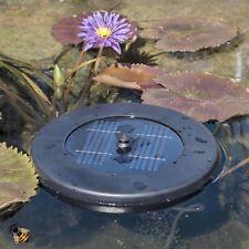 Bomba de aire de estanque solar flotante estanque de jardín nuevo pondxpert Oxigenador