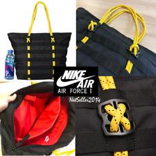 🔥🆕👌UNISEX Nike AF-1 Tote Bag Shoulder Bag Lifestyle Casual Black BA4989-011