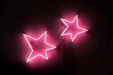 "New Two Stars Pub Wall Decor Acrylic Neon Light Sign 14"""