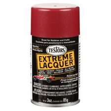 Testors  Mythical Maroon LACQUER Spray Paint Can  3 oz.  1838
