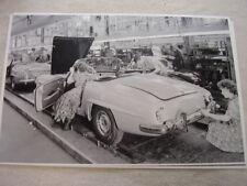 vintage parts for 1958 mercedes benz 190sl for sale ebay 190sl club 1958 mercedes benz 190sl assembly line 11 x 17 photo picture