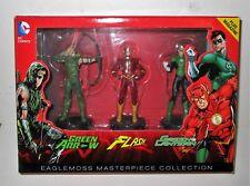 DC Comics - Coffret Collector  Flash, Green Arrow & Green Lantern  EAGLEMOSS