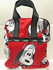 LeSportsac Peanuts X Snoopy Fun Red Women's Classic Everyday Backpack Bag NWT!