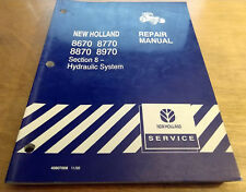 Ford New Holland 8670 8770 8870 8970 Hydraulic System Service Repair Manual NH