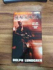Blackjack (VHS, 1998) Dolph Lundgren excellent tested used condition