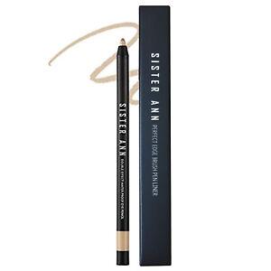 SisterAnn Waterproof Eye Pencil Sharpener Shadow Liner 05 Champagne Gold Duo 1ea