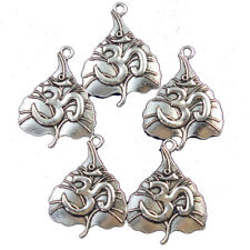 Pendant Bead 32x25x2mm L38 10Pcs Tibetan Silver Maple leaf