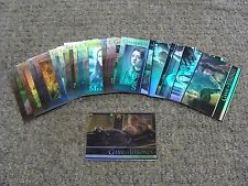 2016 Game of Thrones Season Five Foil - 24 Card Lot * HBO * Rittenhouse *