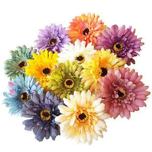 10cm Large Sunflower Hair Brooch Clip. Summer Boho, Festival, Wedding Corsage