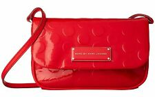 MBMJ Marc Jacobs Cambridge Red Too Hot To Handle Novelty Big Dots Sofia NWT