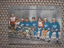 CARTOLINA SQUADRA GIRARDENGO ICEP 1956 CICLISMO CYCLING RADSPORT OCKERS THEUNS