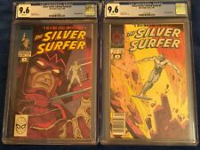 SET of 2 (#1&#2) Silver Surfer Limited Series CGC Graded Comic Books 9.6 NM+