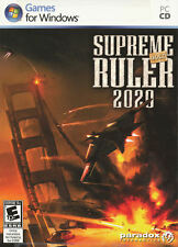 SUPREME RULER 2020 GOLD EDITION Global Crisis PC NEW!