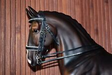 Double Dressage Bridle, LSQ, Breyer Stone Model Horse, Traditional 1:9