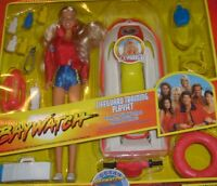 RARE BAYWATCH C.J. Parker Pam Anderson Deluxe Bay Watch Gift Set MISB NEW
