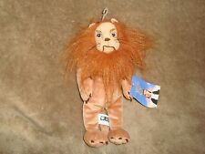 "Wizard of Oz Cowardly Lion Plush & beans 9"" tall 1998 Warner Bros studio store"