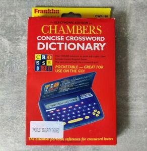 Chambers Concise Electronic Crossword Dictionary Franklin CWR-108