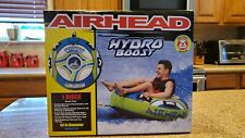 Airhead Hydro-Boost Towable Tube Inflatable Round Water Sports 1-Person Rider