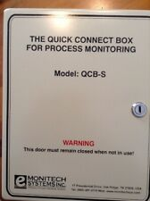 Monitech Systems Qcb-S Quick Connect Box for Process Monitoring with Accesso