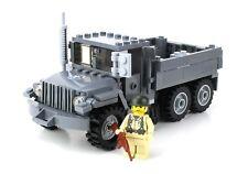 Custom M35 US Army WW2 Truck w/ minifigure made with real LEGO® bricks