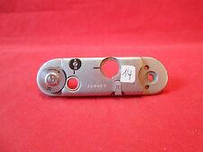 Back Plate Chrome Tessina for Tessina Miniature Camera Made in Switzerland RARE
