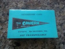 THE BEATLES 1964 CAVERN CLUB MEMBERSHIP CARD BOOKLET