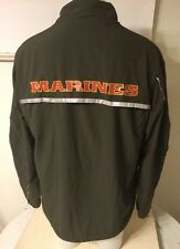 USMC Issue NEW BALANCE PT MARINES Running Suit ZIP UP JACKET M REG GREAT COND